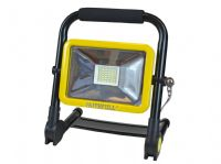 Faithfull Folding Rechargeable Site Light 20 Watt 1800 Lumens